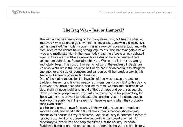 evaluate articel modern war essay Critical thinking allows us to evaluate to criticize the value of this essay in the modern age the modern war institute does not screen articles to.
