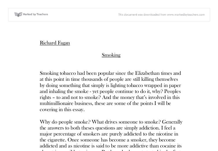 persuasive essay on smoking introduction The purpose of the persuasive essay is to give an argumentative most persuasive writing addresses the same goes for a persuasive essay introduction.
