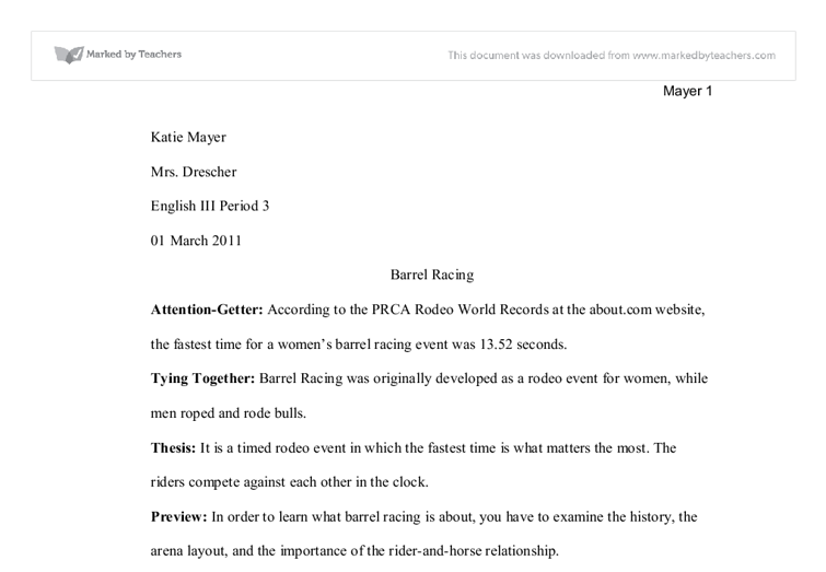 good attention getters compare contrast essay