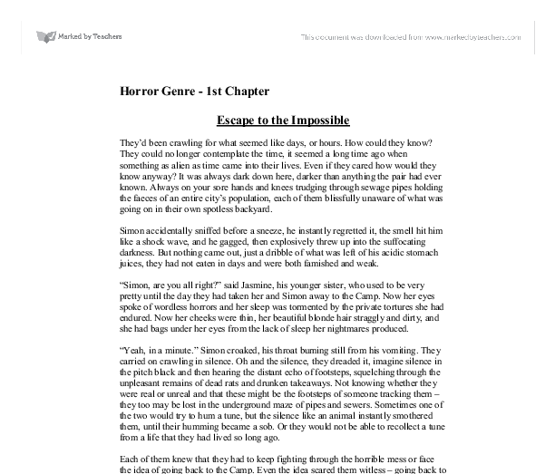 Escaping time essay
