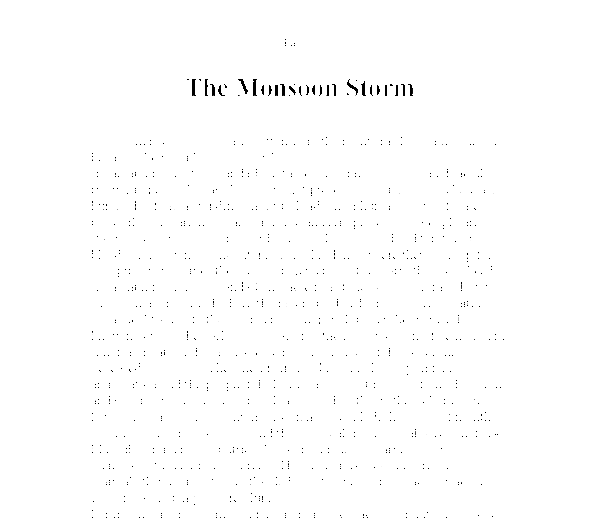 descriptive rainstorm essay Descriptive art history essay jade richards-butler professor jonathon farris arth 100 descriptive essay this work resembles a four-legged animal wearing a mask with.