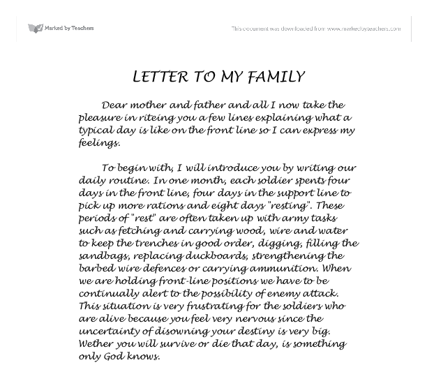 letter to family beautiful letter to family cover letter examples 26400