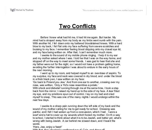 group conflicts essay