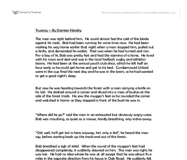 student truancy essay Essays from bookrags provide great ideas for truancy essays and paper topics like essay view this student essay about truancy.