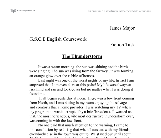 Here is your free sample essay on Thunderstorms