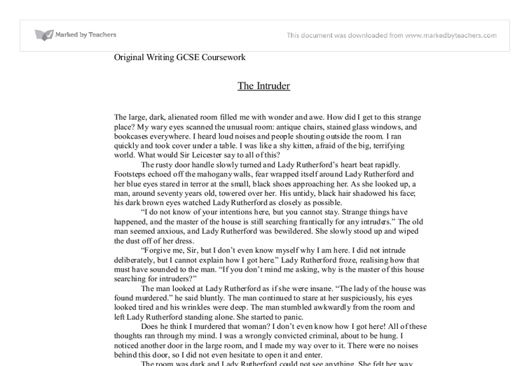 Write my english original writing coursework ideas