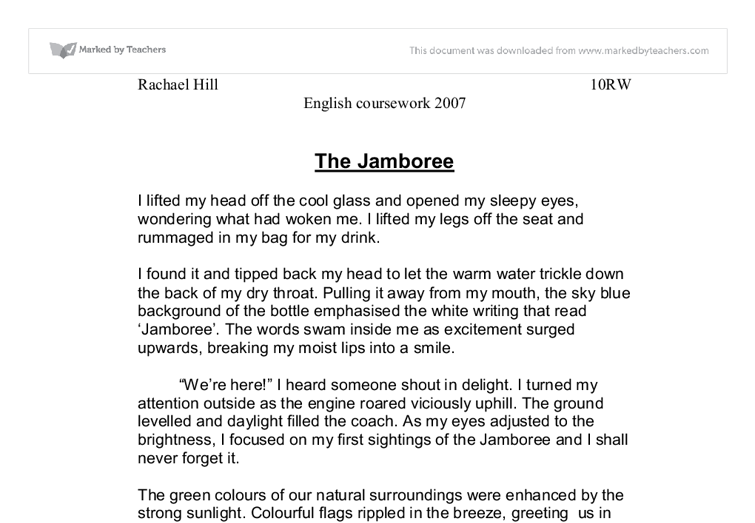 Descriptive essay example about a place