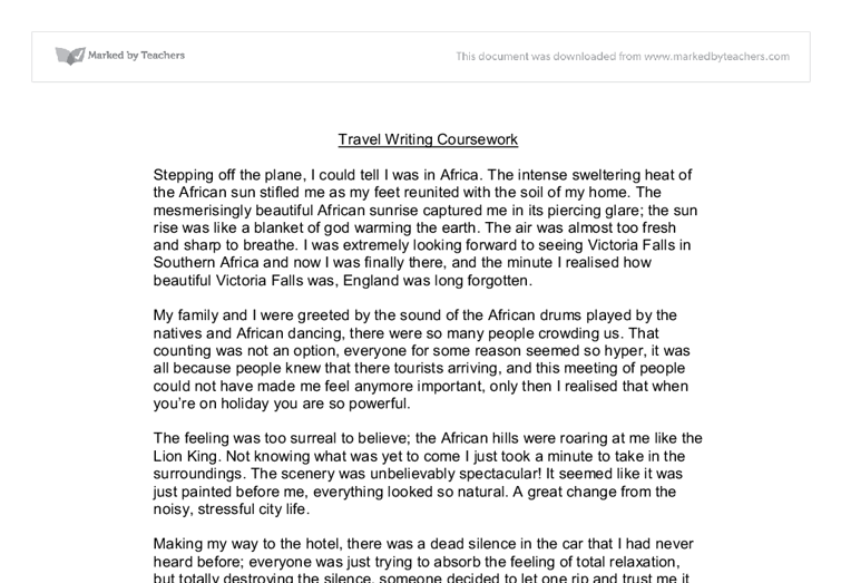 travel essay examples