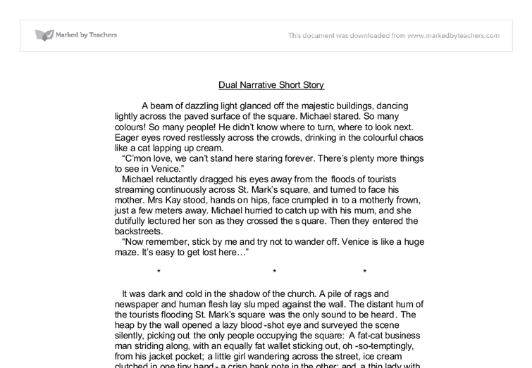narrative essay examples for kids