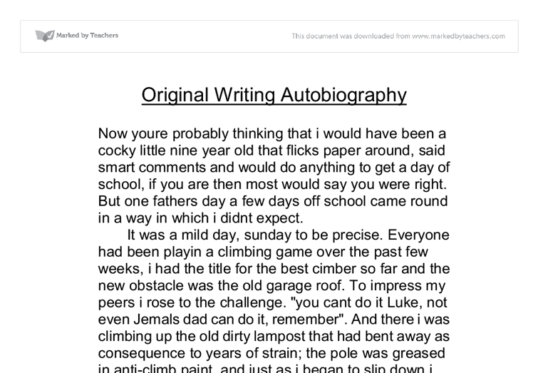 gcse descriptive writing