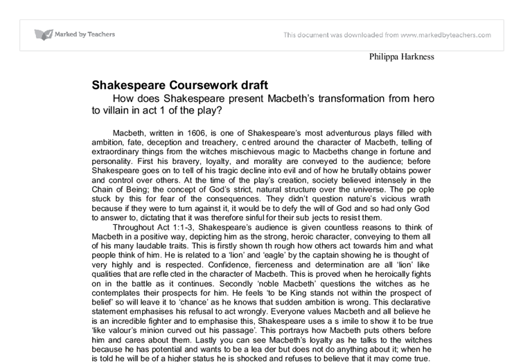 macbeth essay questions teacher Macbeth study questions and answers act 2 literature essays yet earlier in act ii techniques to study macbeth read more 1 teacher ks3 / plays.
