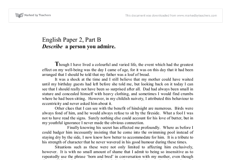 Anchor Papers ~ English ~ Item 1