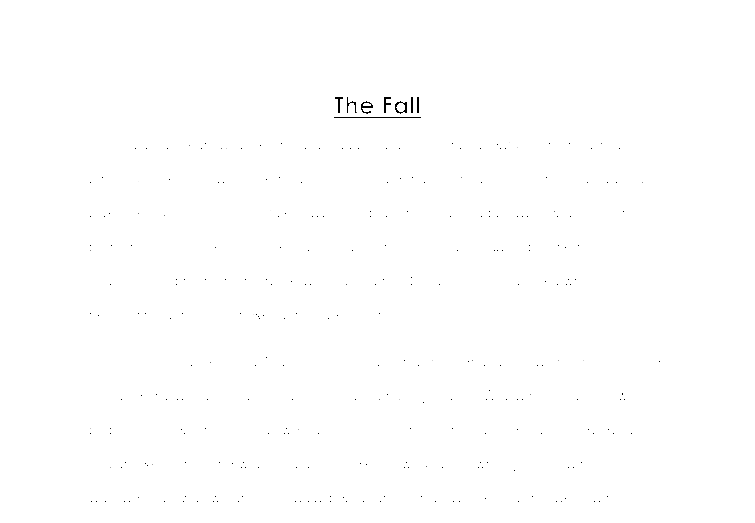 the fall what could be worse than falling off a stage during a  document image preview