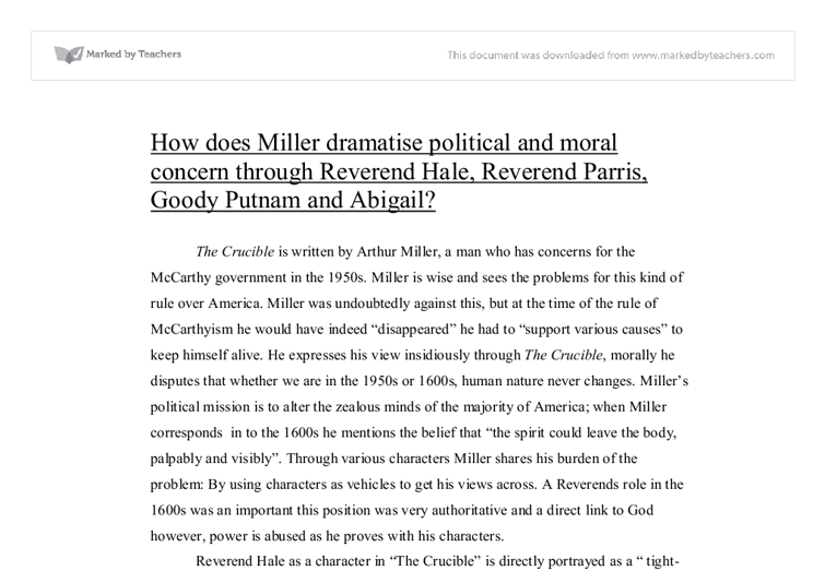 miller dramatise political essay Review essay the political economy of food  miller offers some mournful reflections on the significant drop in the number of workers involved in.