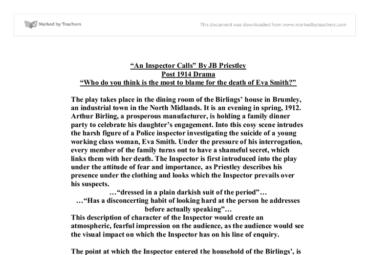 essay on an inspector calls by jb priestley Essay on an inspector calls by jb priestley essay on an inspector calls by jb priestley descriptive essay twin towers about using paypal diflucan side.