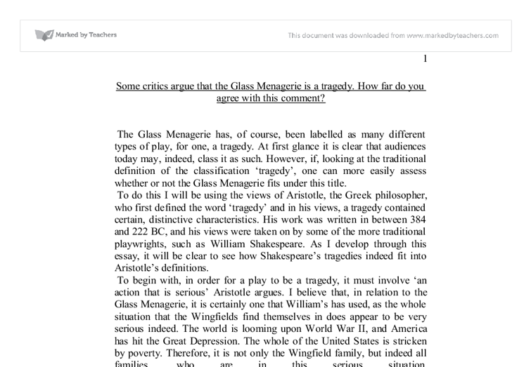 the glass menagerie essay outline Essay symbolism in the glass menagerie the glass menagerie uses an  extensive pattern of symbolism that describes the characters of tom,amanda, laura.