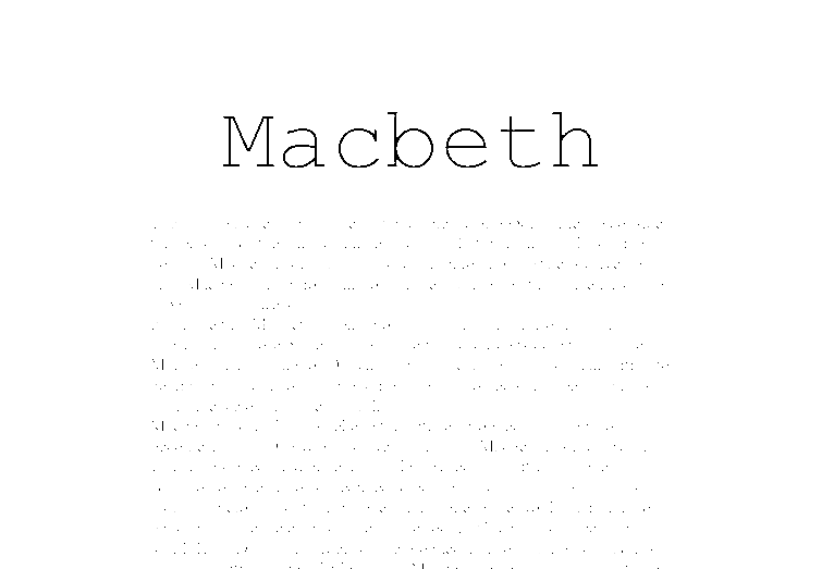 Essays on macbeth