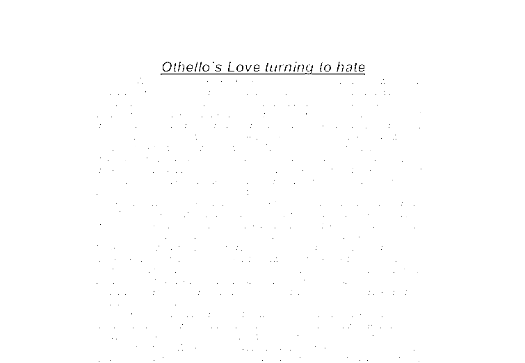 comparison essay about love and hate