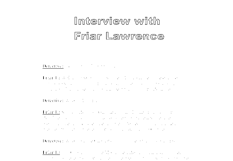 Essays on friar laurence in romeo and juliet
