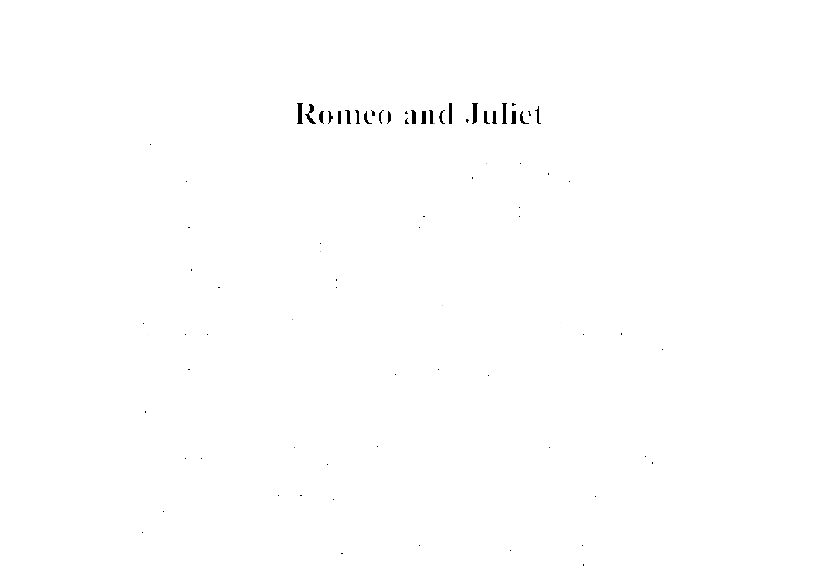 GCSE Romeo and Juliet