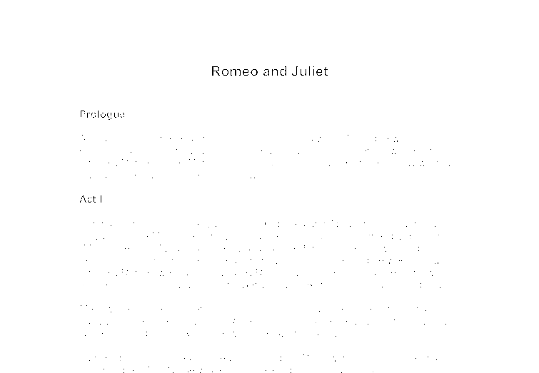 an overview of romeo and juliet a play by william shakespeare Romeo and juliet overview  william shakespeare:  shakespeare play.