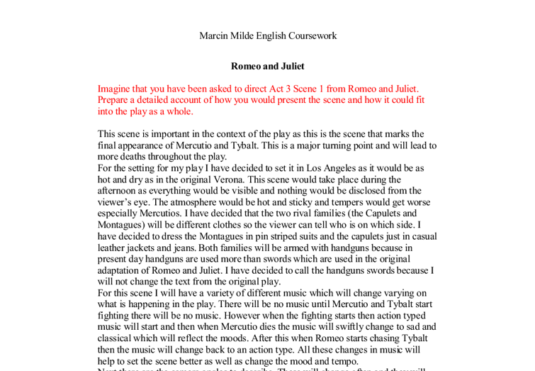 Romeo And Juliet Essay Help  Romeo And Juliet Essay Help High School Narrative Essay Examples also Cause And Effect Essay Thesis  Process Essay Example Paper