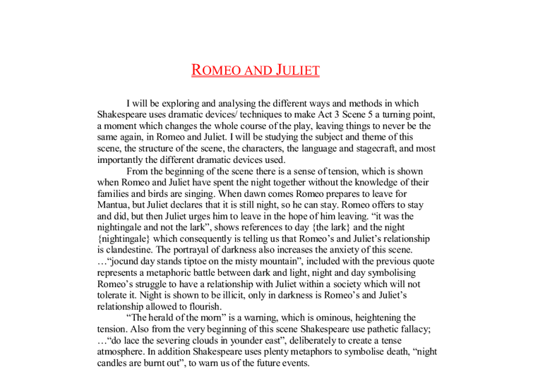 """the ways juliet changes in romeo and juliet essay Romeo and juliet is a famous tragedy written by william shakespeare the plot  is based on  humor mercutio intends to mock romeo as a dreamer in a  sarcastic way his dream  nonetheless, after mercutio's death, everything  changes into dark side mercutio's death is  """"romeo and juliet essays""""  angelfire np, 9th."""