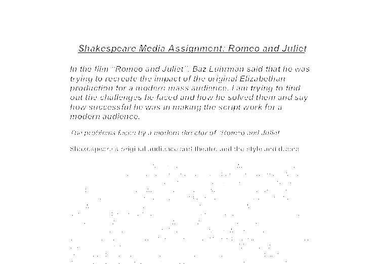 romeo and juliet essay titles gcse Essaysharkcom experts will not only help you to find relevant romeo and juliet  essay topics, but will also provide plagiarism-free papers on.