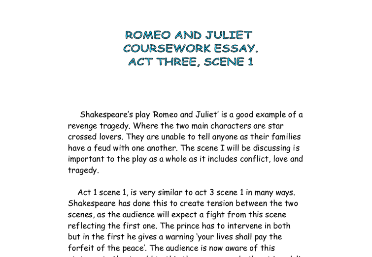 what makes shakespeares romeo and juliet a good tragedy Impulsiveness in shakespeare's tragedy romeo and what makes the story of romeo and juliet such a tragedy are the various decisions made by the good essays.
