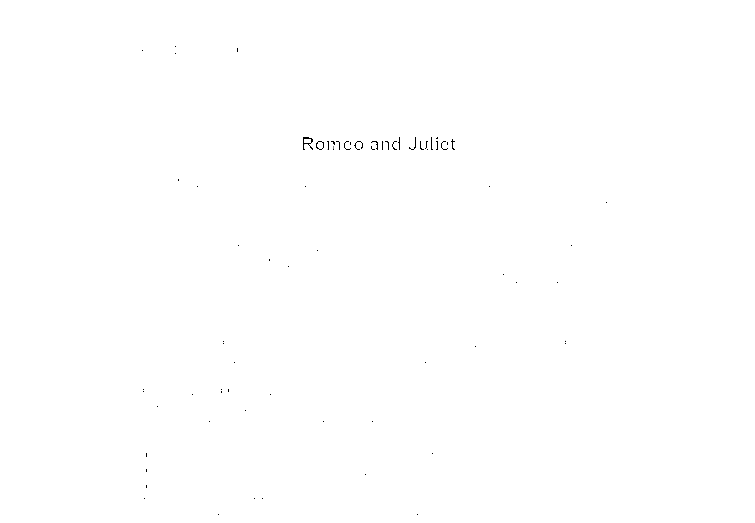 romeo and juliet research paper assignment We can help you with your research paper hire writer introduction  romeo and juliet may well vie for the top spot for shakespeare's most well-known plays for many years, critics tended to see the play in less favor than shakespeare's more heavy handed tragedies, but the play has gained critical acceptance and is now a standard in.