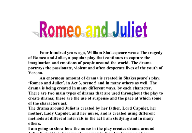 romeo and juliet 22 essay Romeo and juliet and juliet public essay lovesick friend romeo, (son of montague), to abandon his unrequited love for rosaline and seek another.