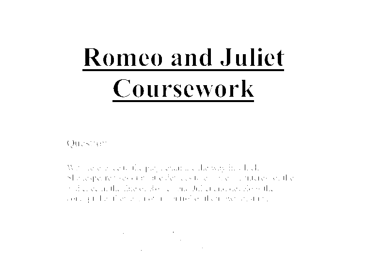 dramatic devices in romeo and juliet essay Free essays regarding how does shakespeare make act 3 scene 5 dramatic in romeo and juliet for download 1 - 25.
