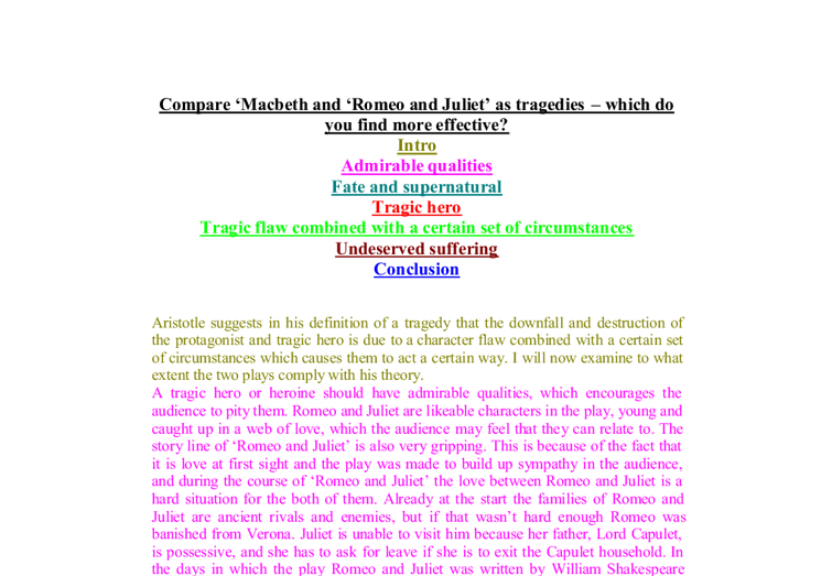 to what extent can macbeth be considered a tragic hero essay Macbeth - tragic hero: the character of macbeth is a classic example of a shakespearean tragic hero there are many factors which contribute to the degeneration of macbeth of which three will be discussed.