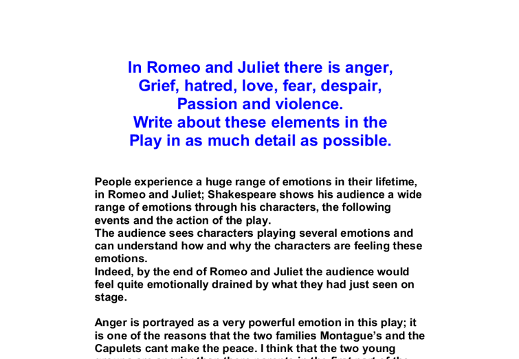 romeo and juliet a parallel text pdf