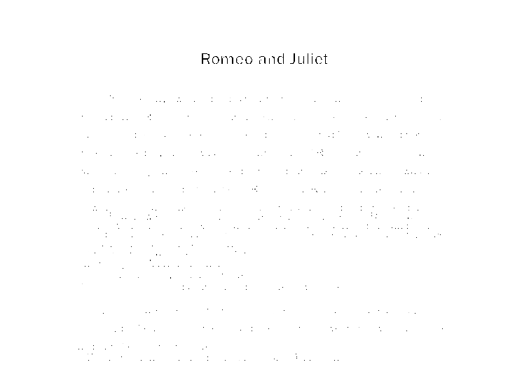 romeo and juliet whos to blame essay