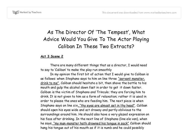 top tips for writing in a hurry the tempest essays throughout the play prospero the main character takes great advantage of his power and authority both properly and improperly