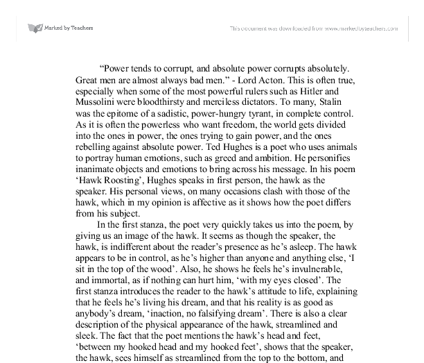 essay on animal farm power corrupts Absolute power corrupts in animal farm by george orwell essays 1287 words | 6 pages drive out snowball from the farm, it shows the animals how powerful the dogs are.