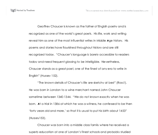 Write An Essay On The History Of English Language