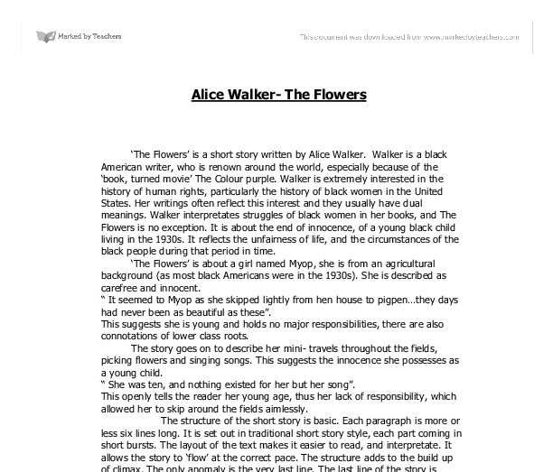 alice walker essay contest Free everyday use papers, essays heritage in everyday use, by alice walker - heritage is one of the most important factors that represents where a person came from everyday use essay.