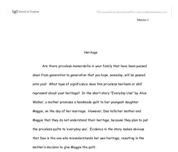 Alice walker essay - Buy Custom Essay