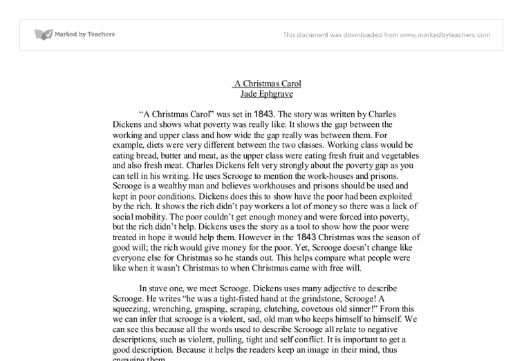 Can someone do my essay how dickens makes readers aware of poverty in a christmas carol ...