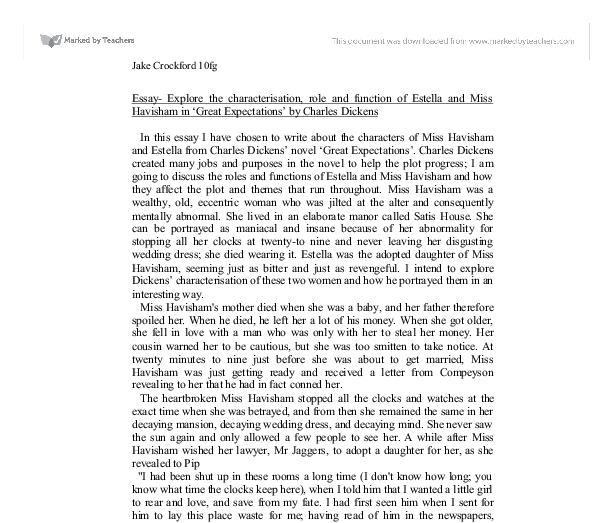 essay for great expectations Essays and criticism on charles dickens' great expectations - great expectations.