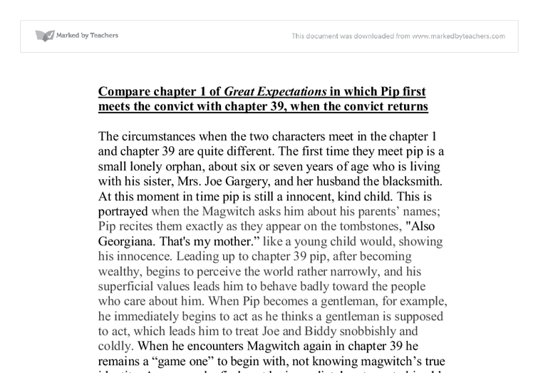 charles dickens great expectations essays