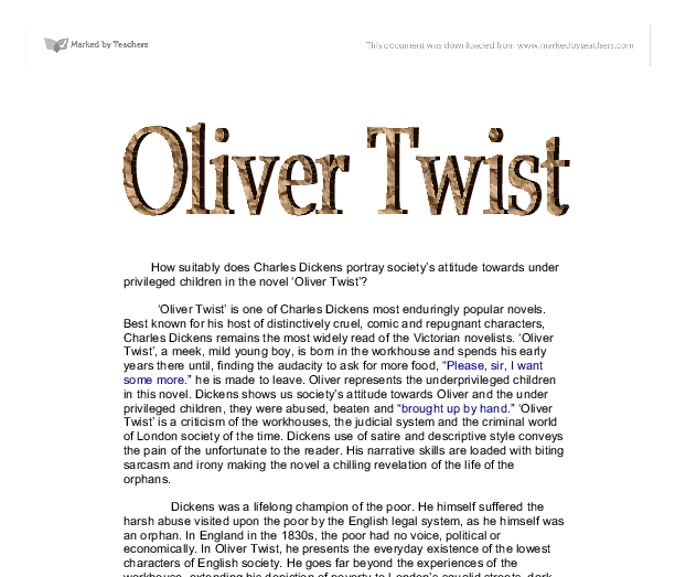 essay on oliver twist oliver twist essay gxart oliver twist  oliver twist essay questions cropped png how suitably does charles dickens portray society s attitude document