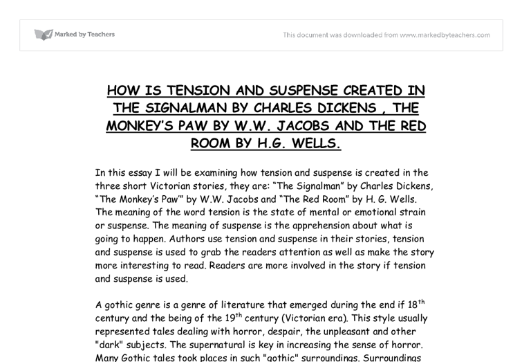 the monkey story essay Starting an essay on ww jacobs's the monkey's paw organize your thoughts and more at our handy-dandy shmoop writing lab.