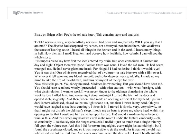 essay on edgar allan poe