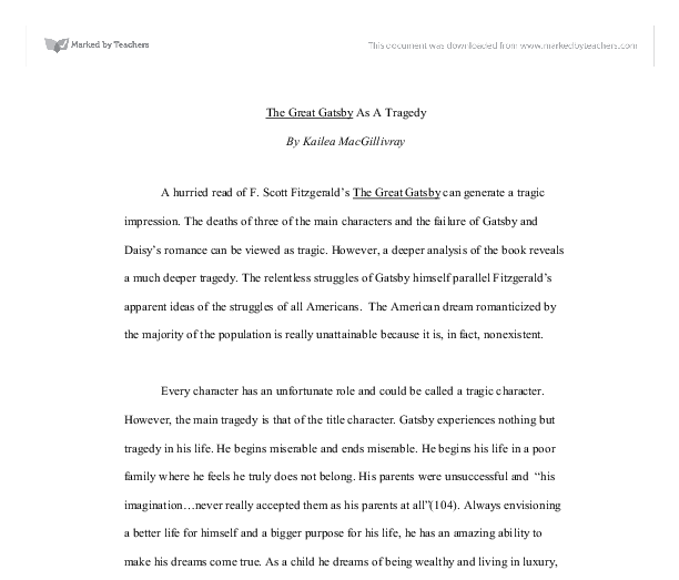Great gatsby essay the great gatsby essay help marked by teachers