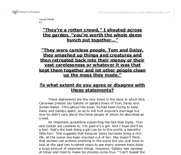 Examples Of A Thesis Statement In An Essay The Great Gatsby The Daily Beast An Essay On Health also Essay About Good Health The Cheap Bastards Guide To New York City A Native New Yorkers  Essays About Science
