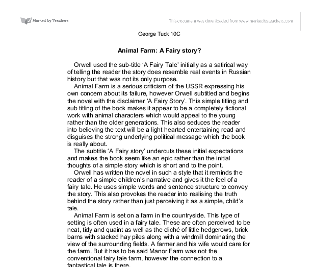 fable animals essay The animal fable essays: over 180,000 the animal fable essays, the animal fable term papers, the animal fable research paper, book reports 184 990 essays, term and.