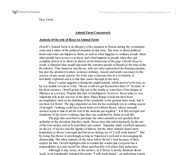 essay of animal farm twenty hueandi co essay of animal farm
